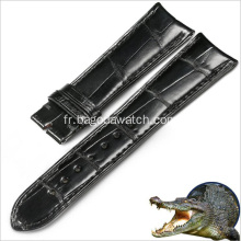 Wholesale bracelet en cuir de crocodile 19mm